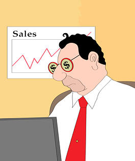 Social media can give sales a boost.